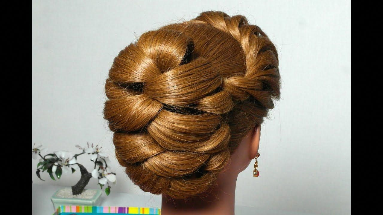 Hairstyle For Long Hair With Twist Braid Updo Tutorial Twistbraids Long Hair Styles Prom Hairstyles For Long Hair Hair Styles