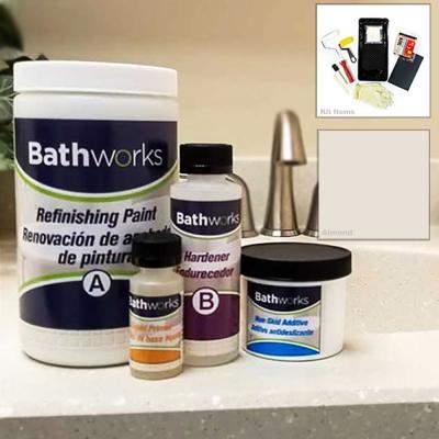 Bathworks 22 Oz Diy Bathtub Refinishing Kit With Slip
