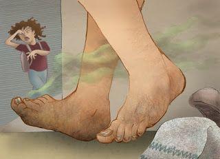 comment avoir des pieds doux naturellement
