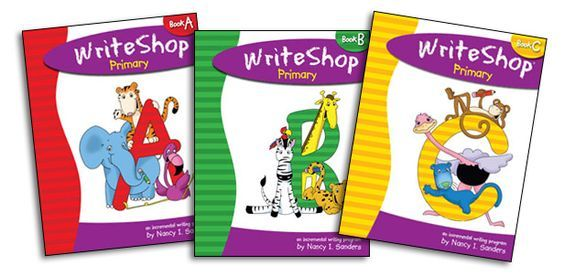 WriteShop Primary makes writing fun for K-3rd graders! Introduce your child to the steps of the writing process through engaging activities, crafts, and picture books.