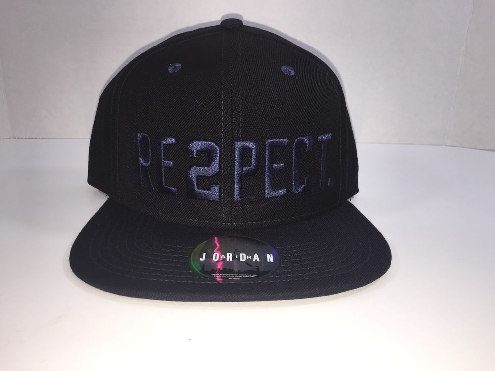 cd47683559e5 Nike Air Jordan Derek Jeter Re2pect Cap Hat 715818-011 Snapback MLB NYY  yankees  Nike  Hat