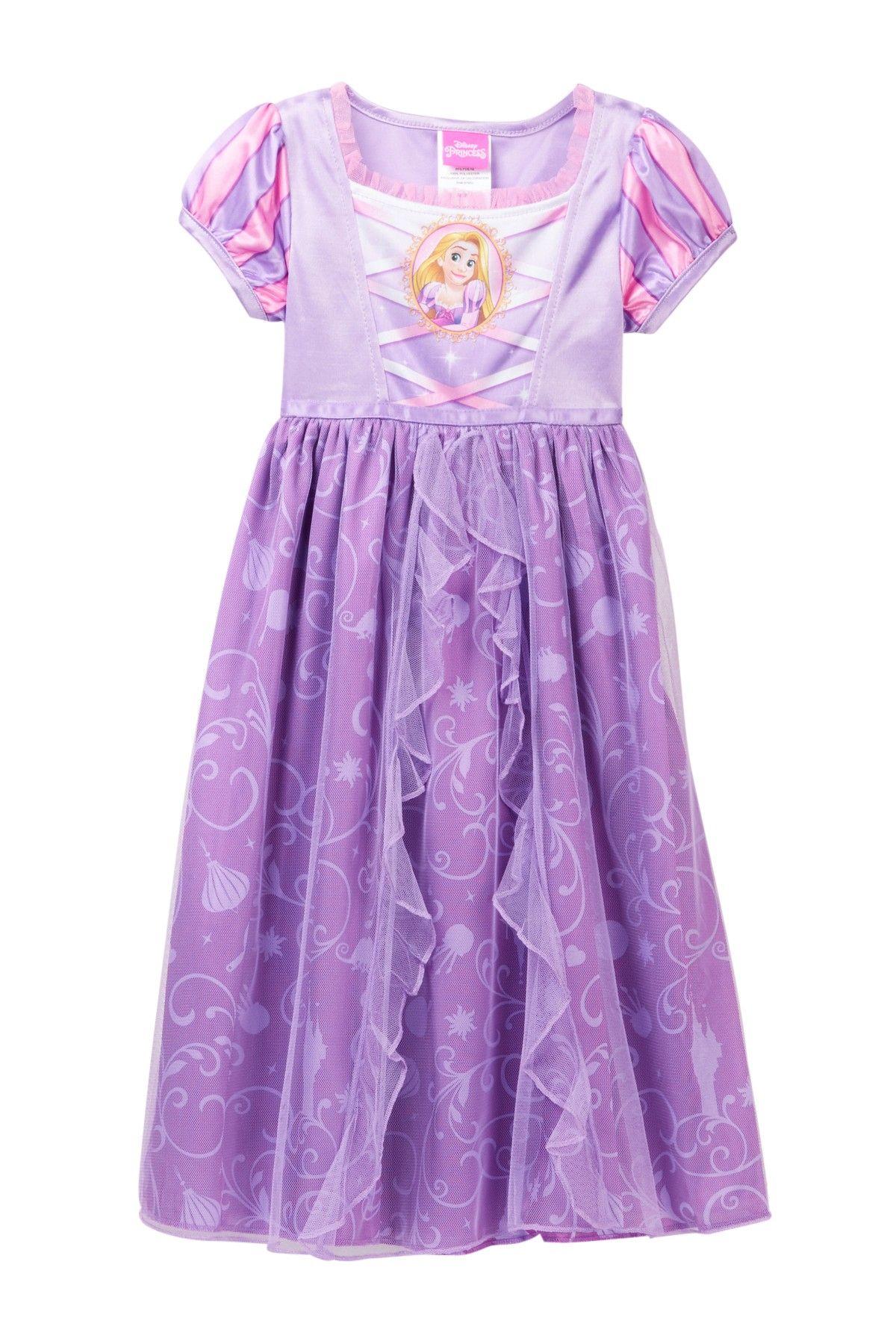 Tangled Rapunzel Fantasy Nightgown (Little Girls   Big Girls ... 2d47190b9
