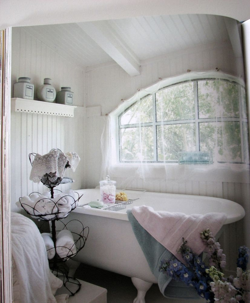 awesome romantic bathroom | Romantic Prairie Style by Fifi O'Neill | DIY Projects ...