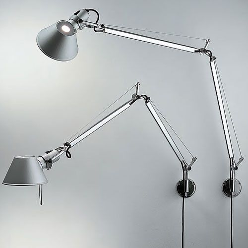Tolomeo Classic Wall Light By Artemide Desk Lamp Led Wall Lamp