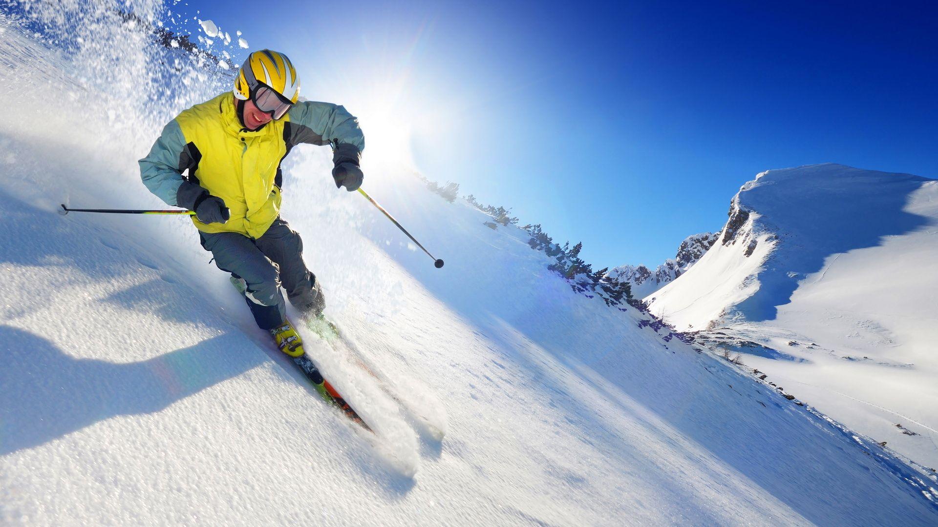 skiing hd wallpapers backgrounds wallpaper 1920×1200 ski wallpaper