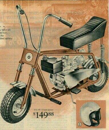 Sears Minibike Mini Motorbike Mini Bike Banana Seat Bike