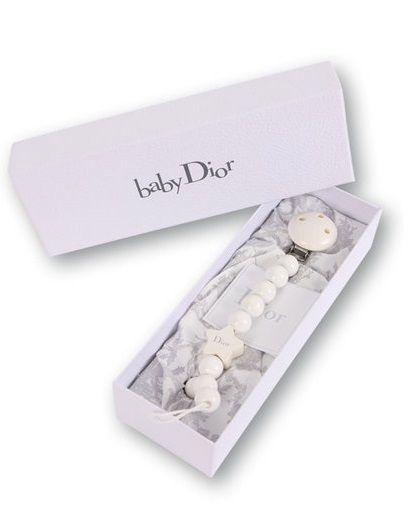 47bd03d0c0a2a Baby Dior Schnullerkette