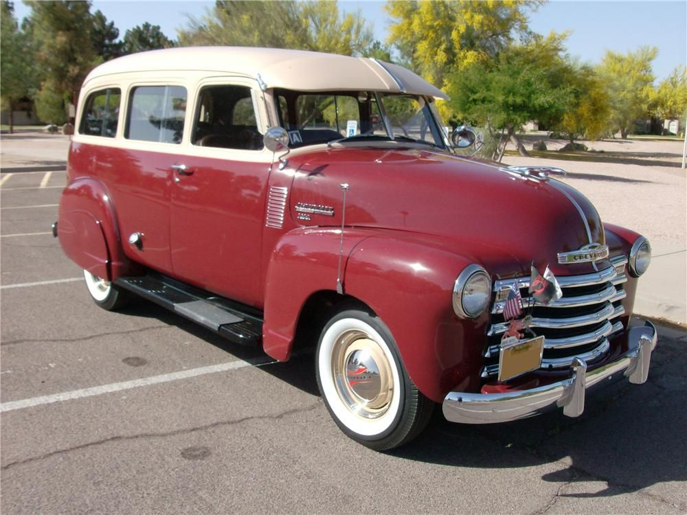1950 Chevrolet Suburban Chevrolet Suburban Classic Chevy Trucks