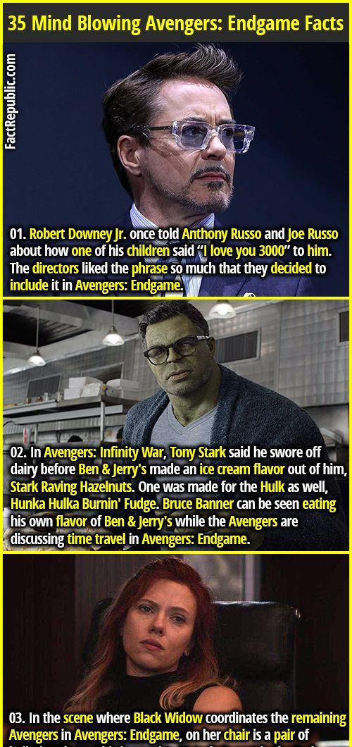 35 Interesting Avengers: Endgame Facts Thatll Blow Your Mind