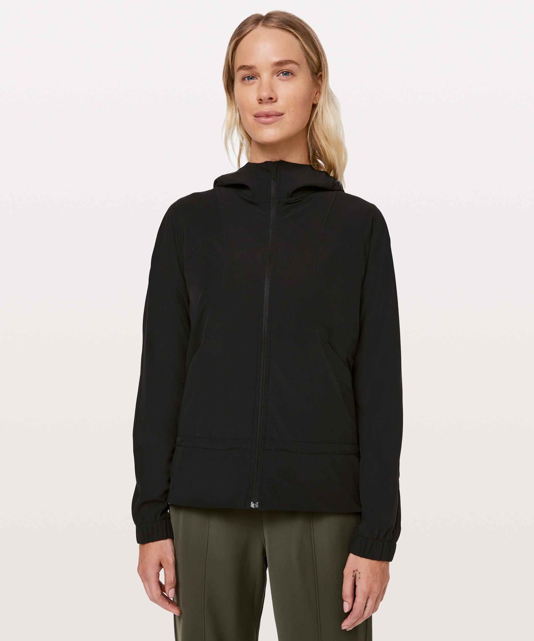 Lululemon Women S Pack It Up Jacket Black Size 10 Jackets For Women Jackets Outerwear Jackets [ 2160 x 1800 Pixel ]