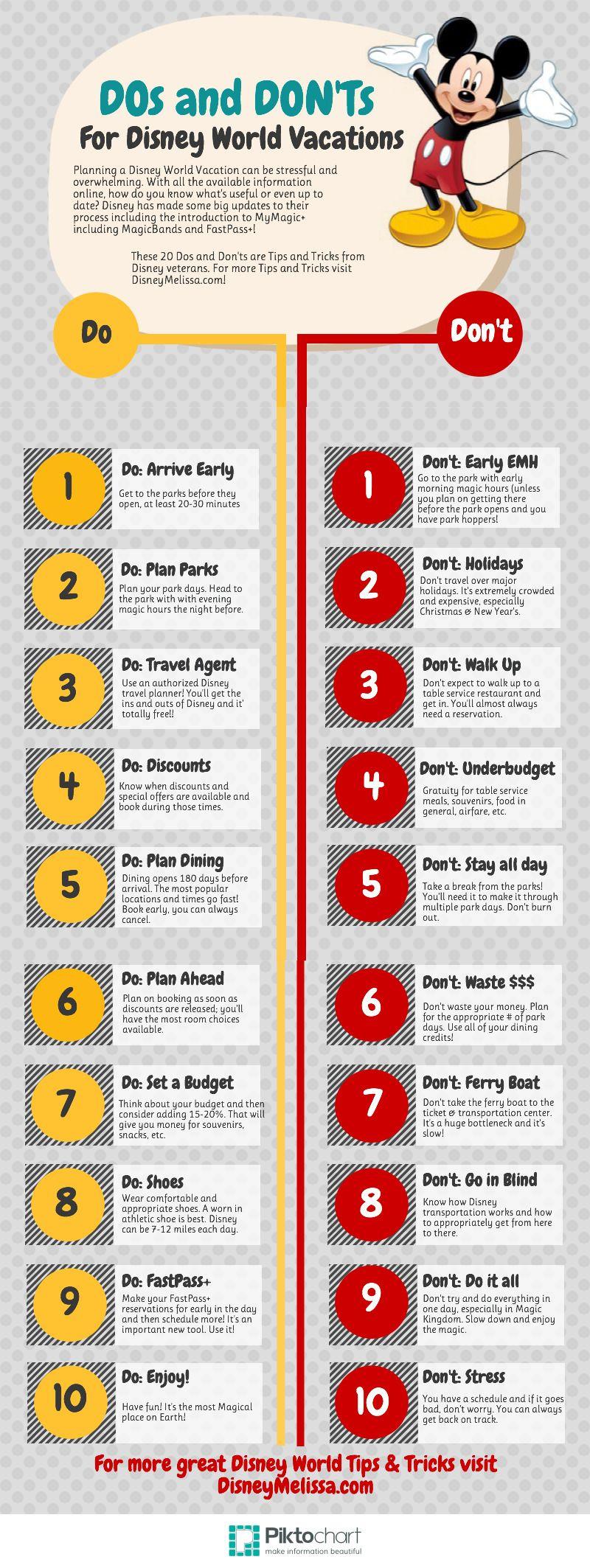 The DOs and DON\'Ts of Disney World   Disney World   Pinterest ...