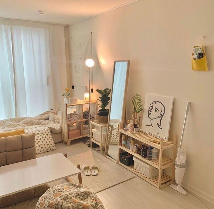Korean style bedroom ideas