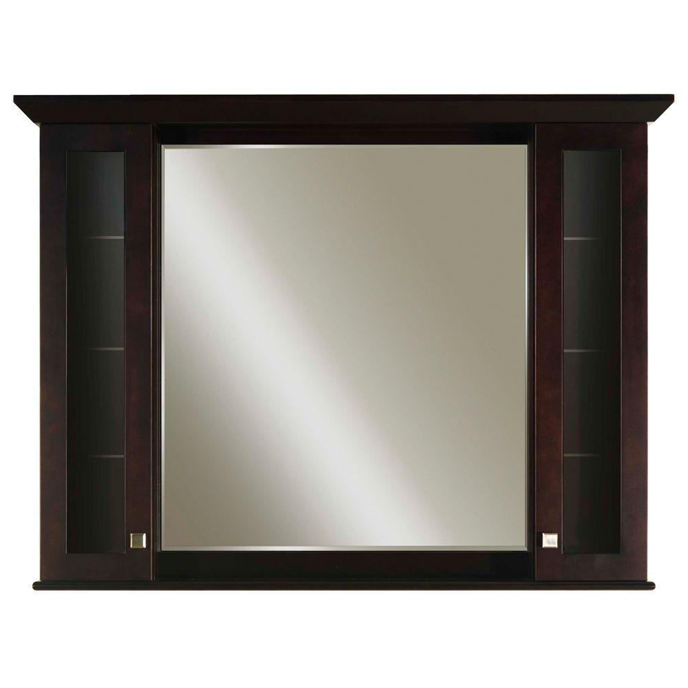 48 Medicine Cabinet Manhattan 48 Inches Surfacemount Mirrored Medicine Cabinet In