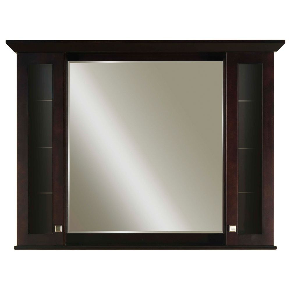48 Medicine Cabinet Mesmerizing Manhattan 48 Inches Surfacemount Mirrored Medicine Cabinet In Decorating Inspiration