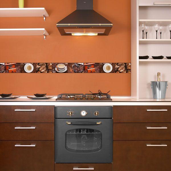 Pin de papel pintado barcelona en cenefas para cocina en - Papel para paredes de cocina ...