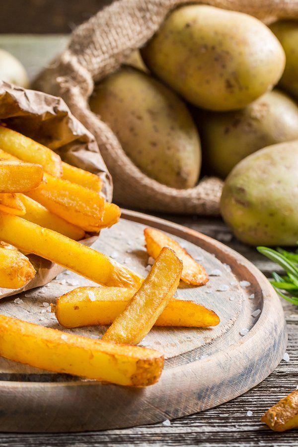 Mit diesem Trick werden Pommes richtig knusprig #pommesselbermachenofen