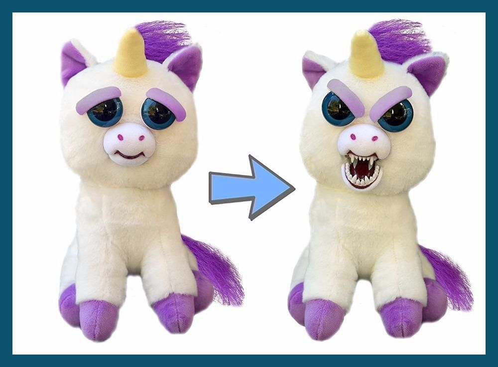 Plush Stuffed Feisty Pets Unicorn Panda Dog Cat Adorable Feisty