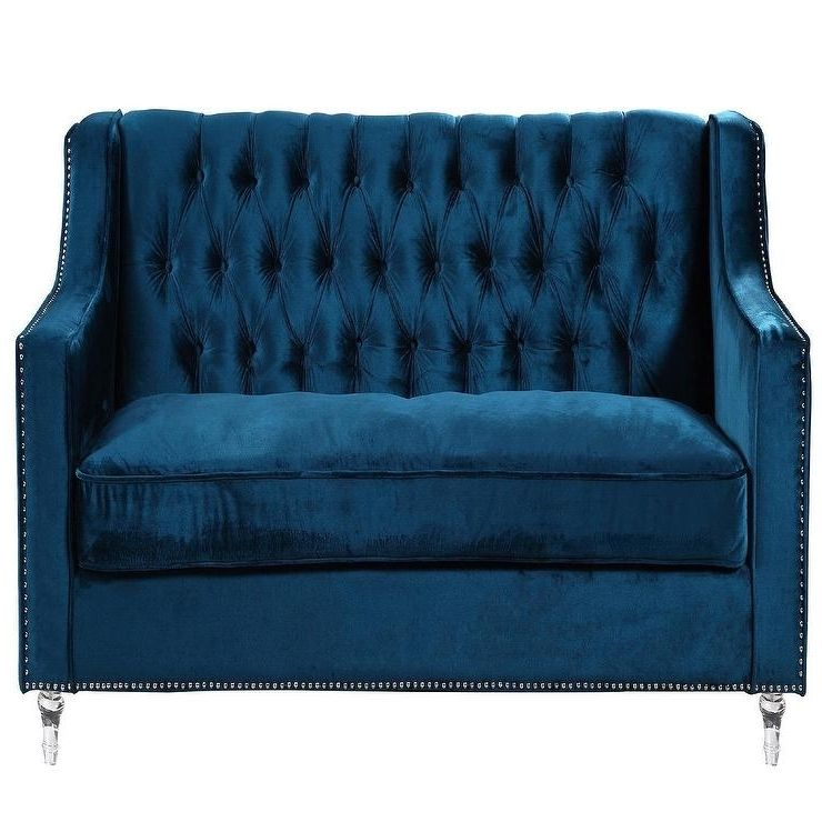 Best Navy Blue Tufted Sofa Blue Tufted Sofa Tufted Sofa 400 x 300