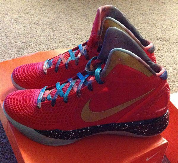"separation shoes ae144 23488 Nike Zoom Hyperdunk 2011 ""Galaxy"" Sample   KicksOnFire"