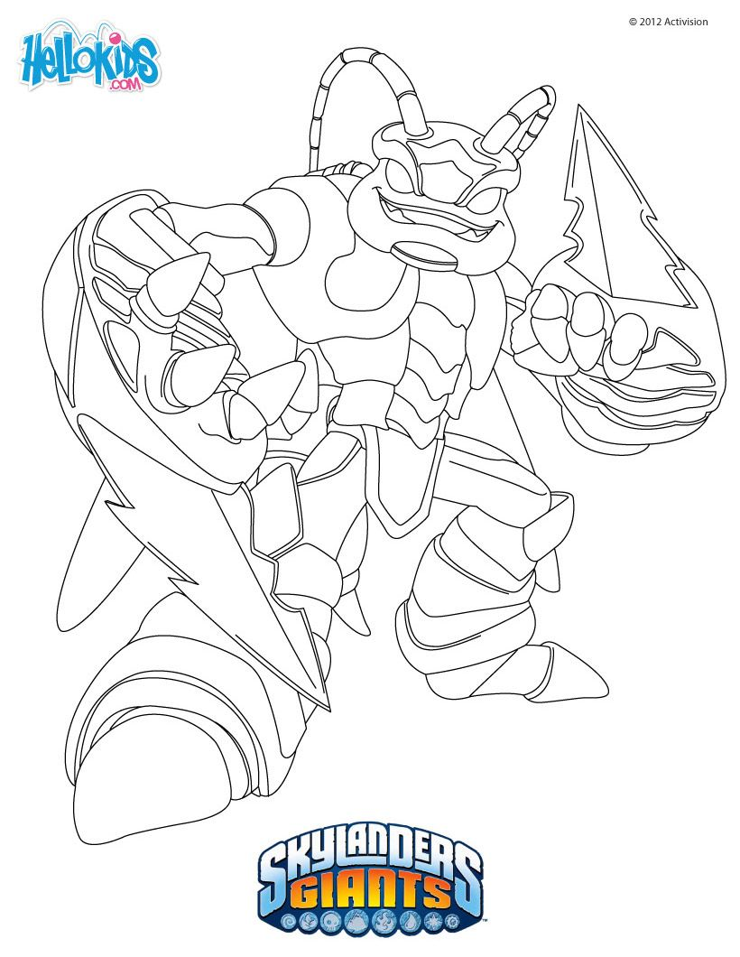 Tons Of Skylanders Coloring Pages Much Moreperfect Since Seem To