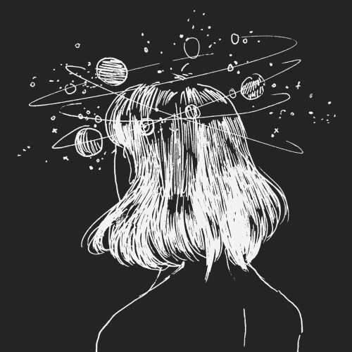 Imagen De Girl Black And White And Alternative Space Drawings