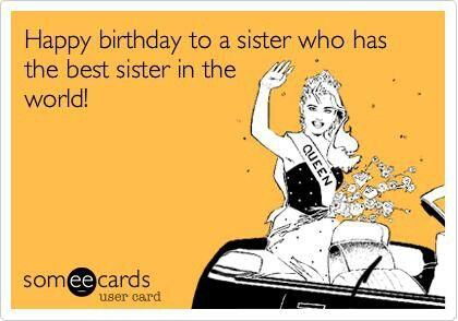Birthday Ecards Care ~ Happy birthday sister ecard inspiratie happy