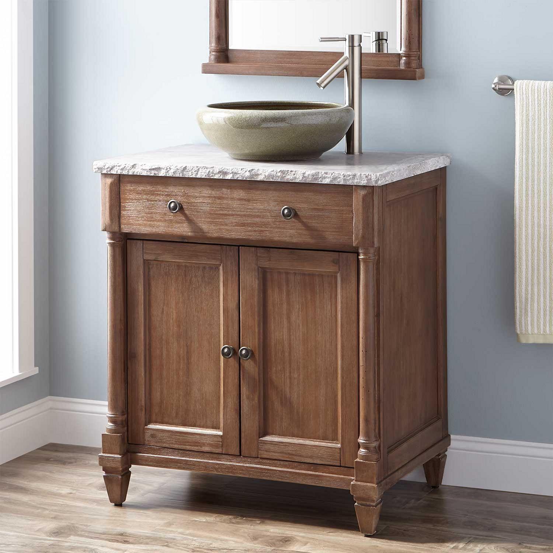 15 Rustic Bathroom Vanities Ideas For Cozy Bathroom Freshouz Com Bathroom Vanities Without Tops Bathroom Vanity Rustic Bathroom Vanities