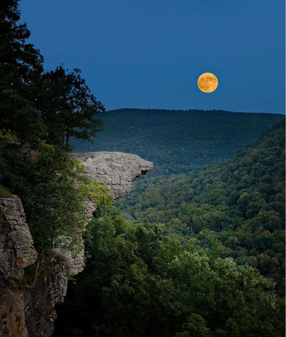 Location Photos of Whitaker Point Hawksbill Crag Arkansas