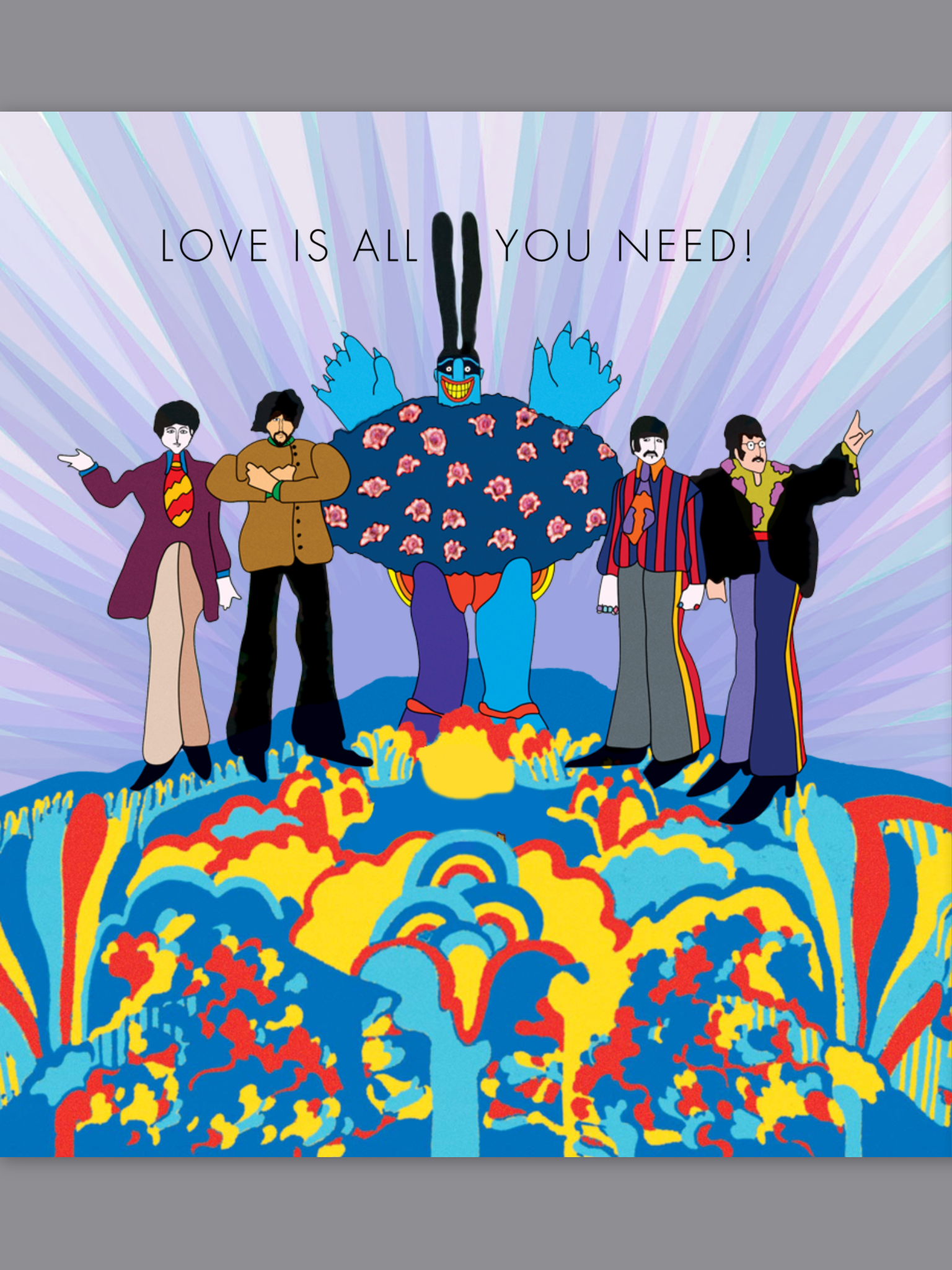 Обои The beatles, sgt. peppers lonely hearts club band, yellow submarine. Музыка foto 2