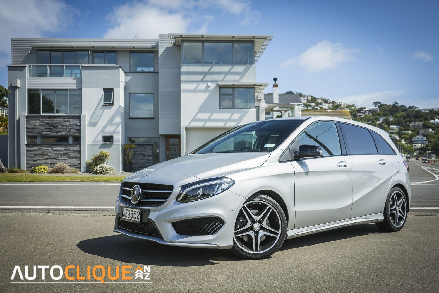 2015 MercedesBenz B250 Car Review The Sheep in Wolf's