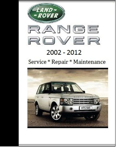 land rover range rover 2005 2006 2007 repair workshop. Black Bedroom Furniture Sets. Home Design Ideas