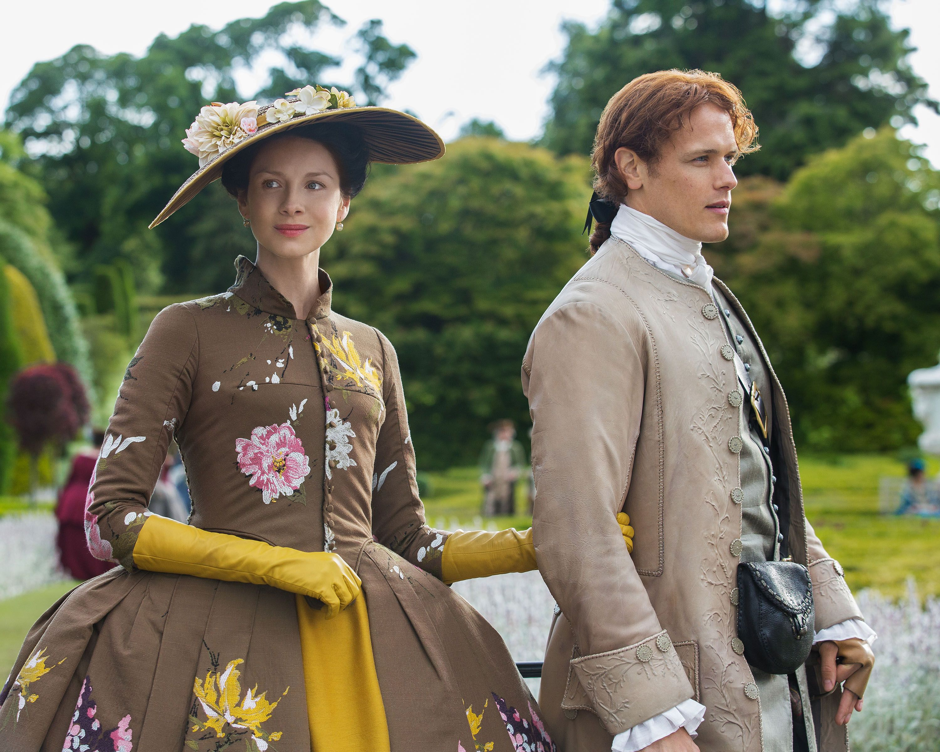 When Caitriona Balfe signed up to play Claire Randall in Outlander three years ago, she was asked if, by the way, she was prepared to have her l...