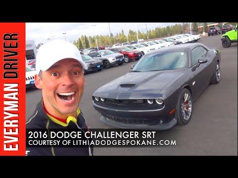 2016 Dodge Challenger Srt On Everyman Driver First Look Challenger Srt Dodge Challenger Srt Srt