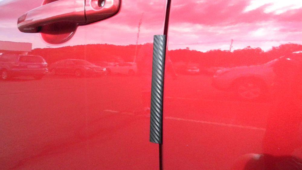 Carbon Fiber Auto Accessory Door Edge Guard Paint Chip Protector Fits Honda 2pk Cupeez Scion Cars Painting Edges Automotive Accessories