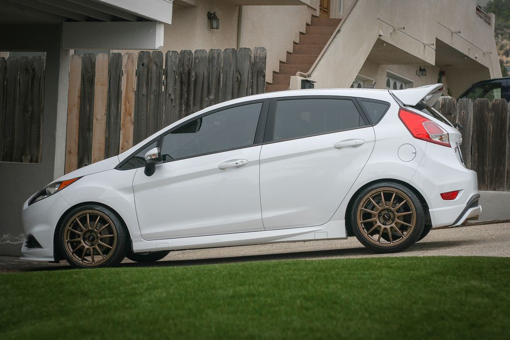 Fiesta St On Team Dynamics Bronze Fiestast With Images Ford