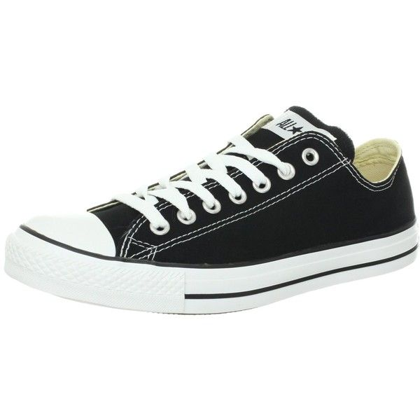 2ff18ad5f90fd7 Converse Chuck Taylor All Star Shoes (M9166) Low top in Black ( 40) ❤ liked  on Polyvore