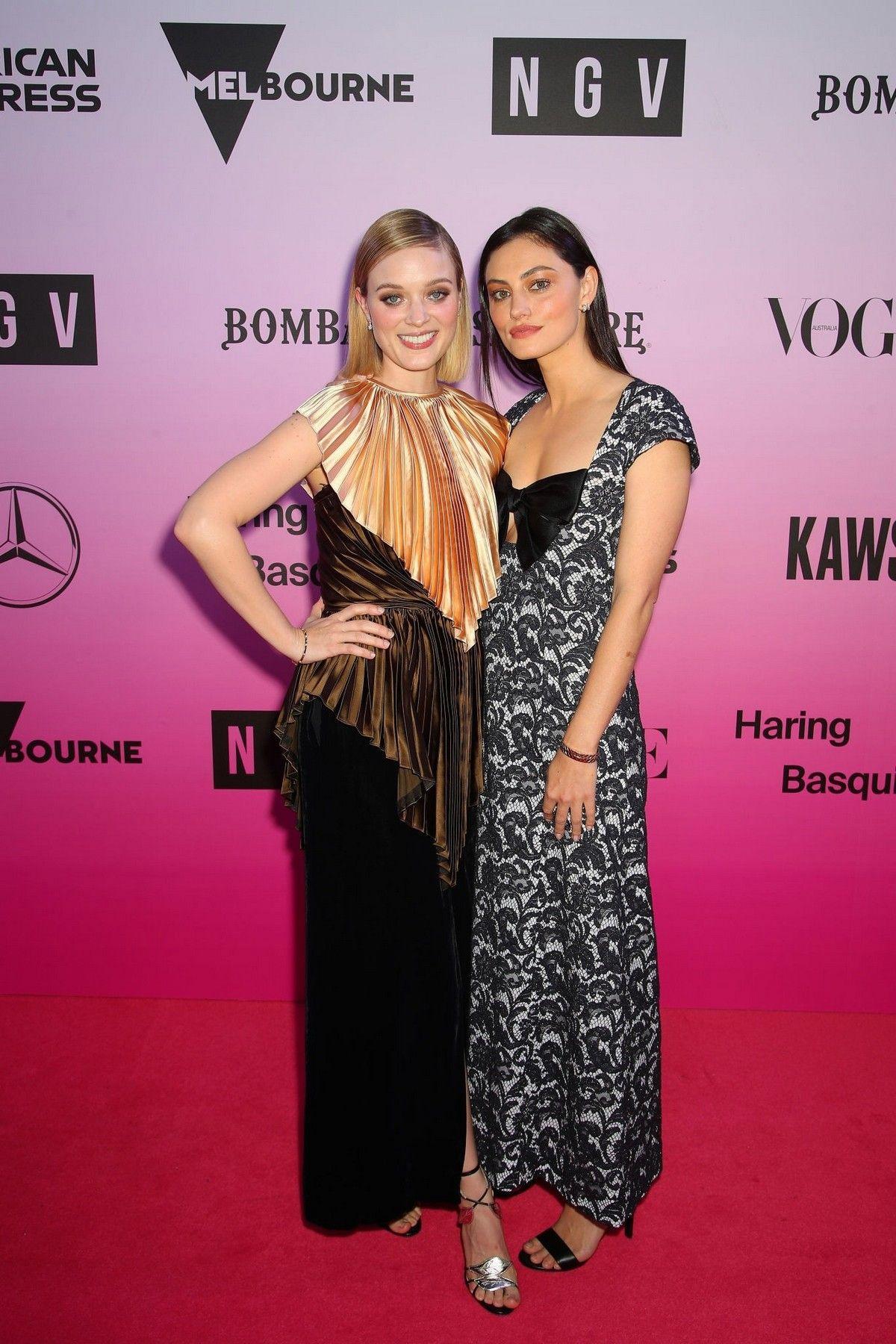 Phoebe Tonkin And Bella Heathcote Attends Ngv Gala In Melbourne Australia 2019 11 30 Phoebe Tonkin Gala Hollywood Celebrities