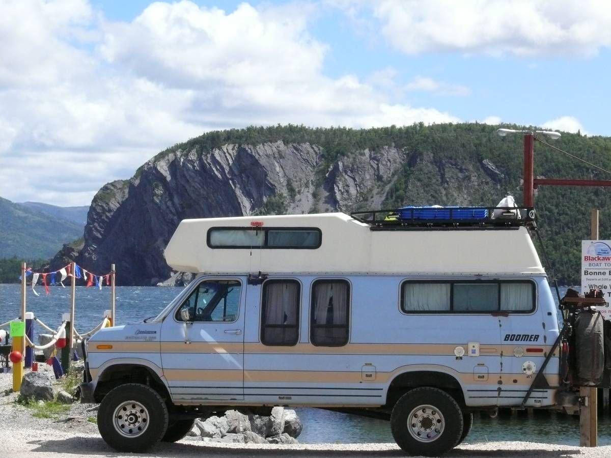 1985 4x4 Class C Offroad Camper Van Ford E350 Diesel Rvs By