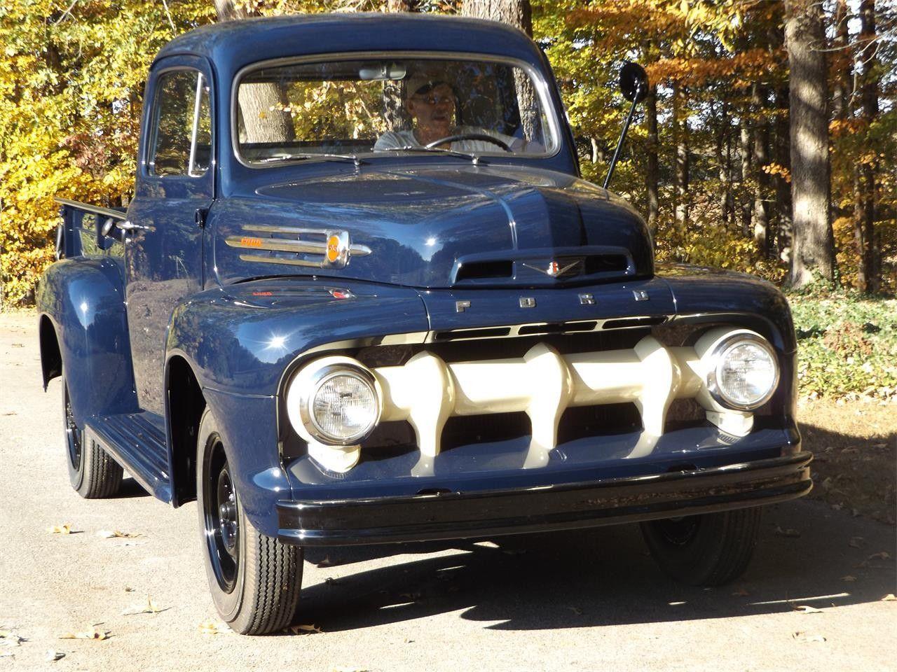 1952 Ford F3 1952 Ford Truck Old Ford Trucks Ford Trucks