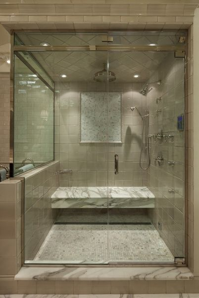 Siena Tile uSE OF mARBLE TILES FOR SHOWER SEAT | Bathroom Upgrade ...