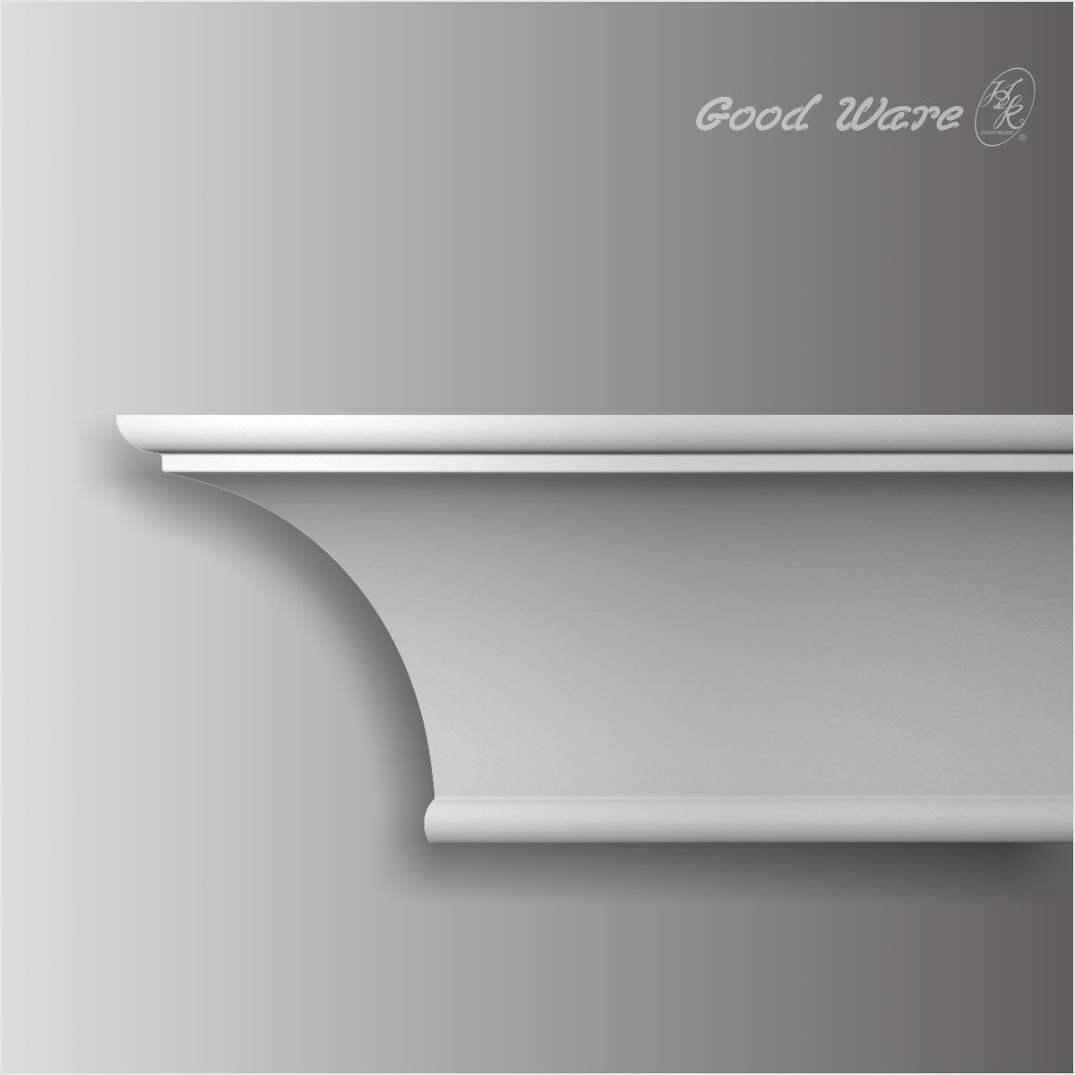 Cove 9 Inch Crown Moulding