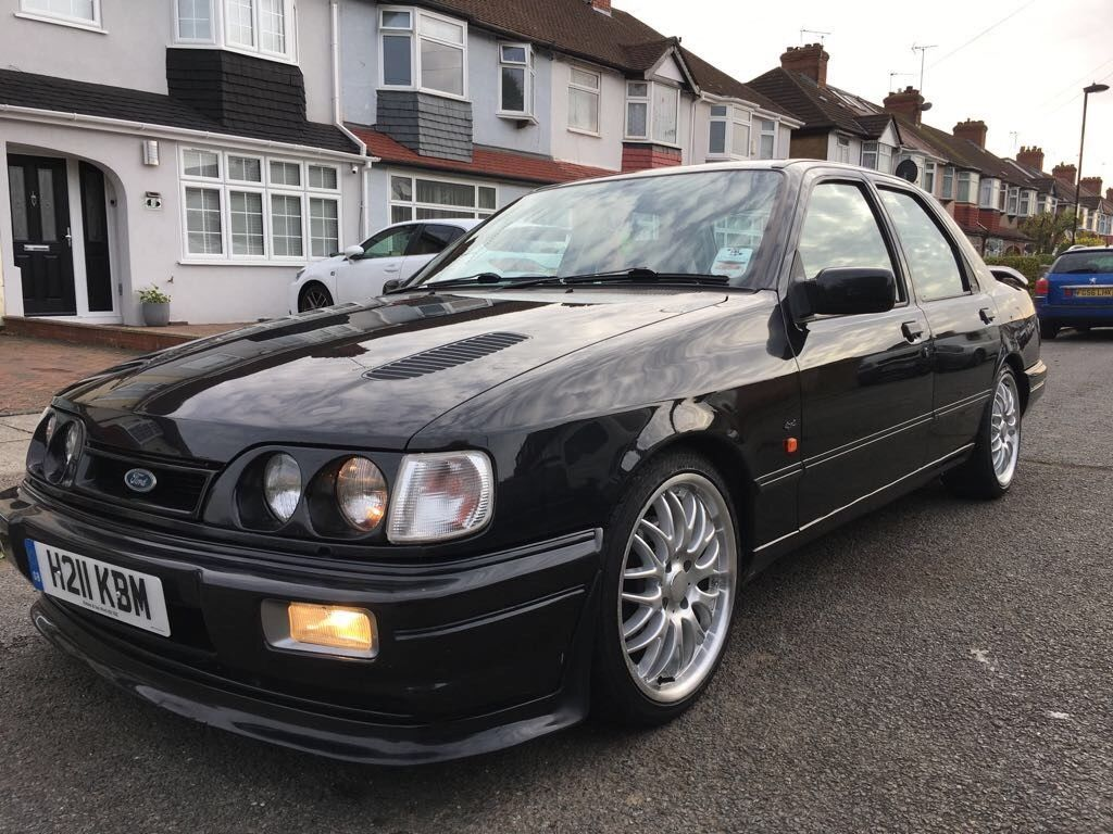 Check Out This Classic Turbo Ford Sierra Sapphire Rs Cosworth