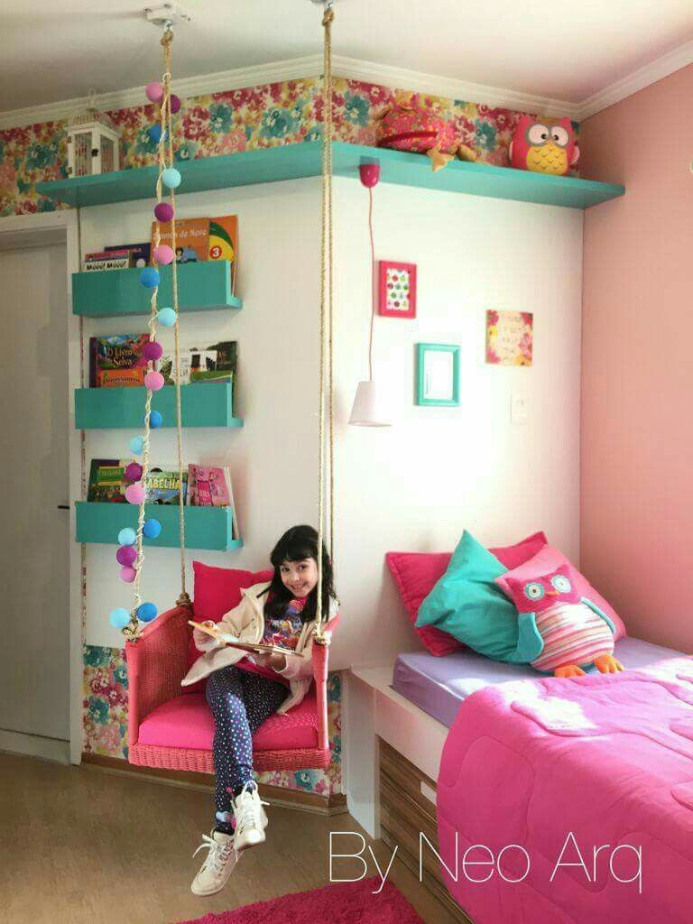 Love the shelves bydlen pinterest kinderzimmer - Kinderzimmer teenager ...