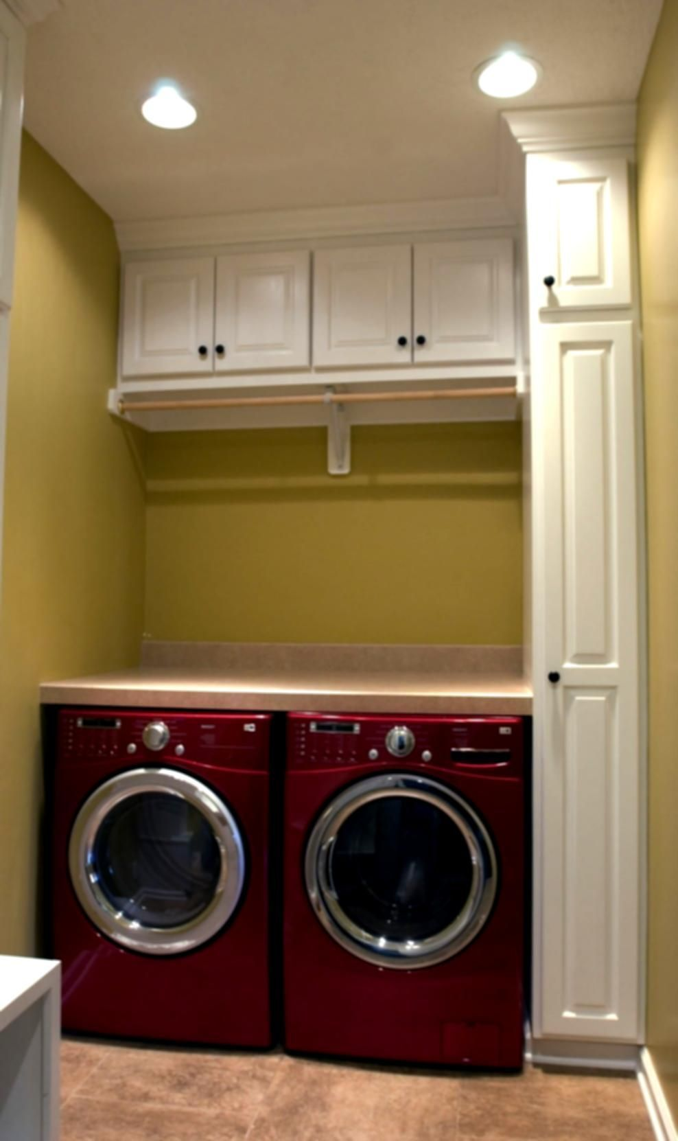 Small Mud Room With Washer And Dryer Designs Laundry Room Ideas Stacked Washer Drye Laundry Closet Makeover Stacked Laundry Room Laundry Room Storage Shelves