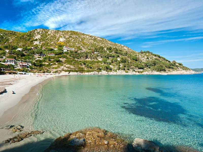 Elba Island Fetovaia Beach Vacanze in italia, Isola d