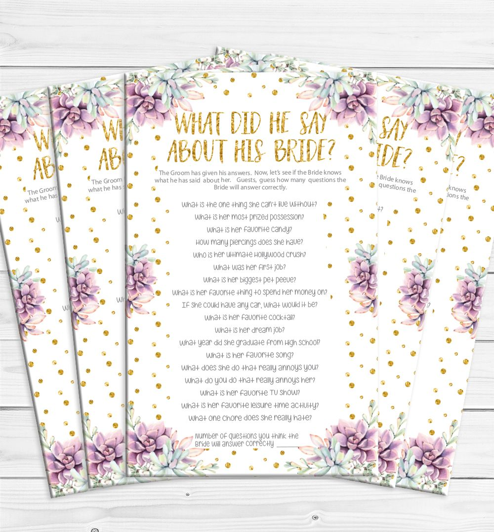 What Did He Say About His Bride With Lots Of Printable Gold Glitter