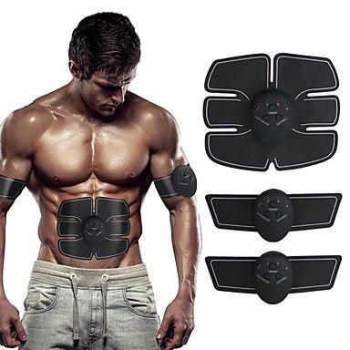 Muscle Toner Abdominal Toning Belt Exercise & Fitness Gym Sports Armband Wireless use PP+ABS Trainer...
