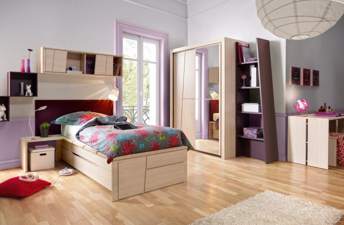 l 39 affirm e mobilier chambre enfant ambiance cameo. Black Bedroom Furniture Sets. Home Design Ideas