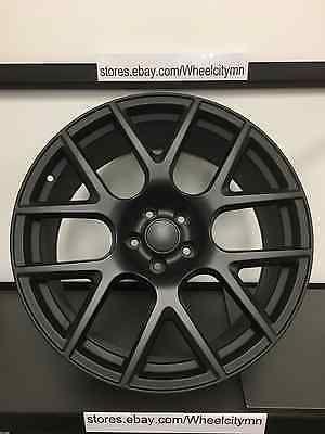 20 Inch Satin Black 2015 Dodge Challenger Scat Pack Srt Oe Replica