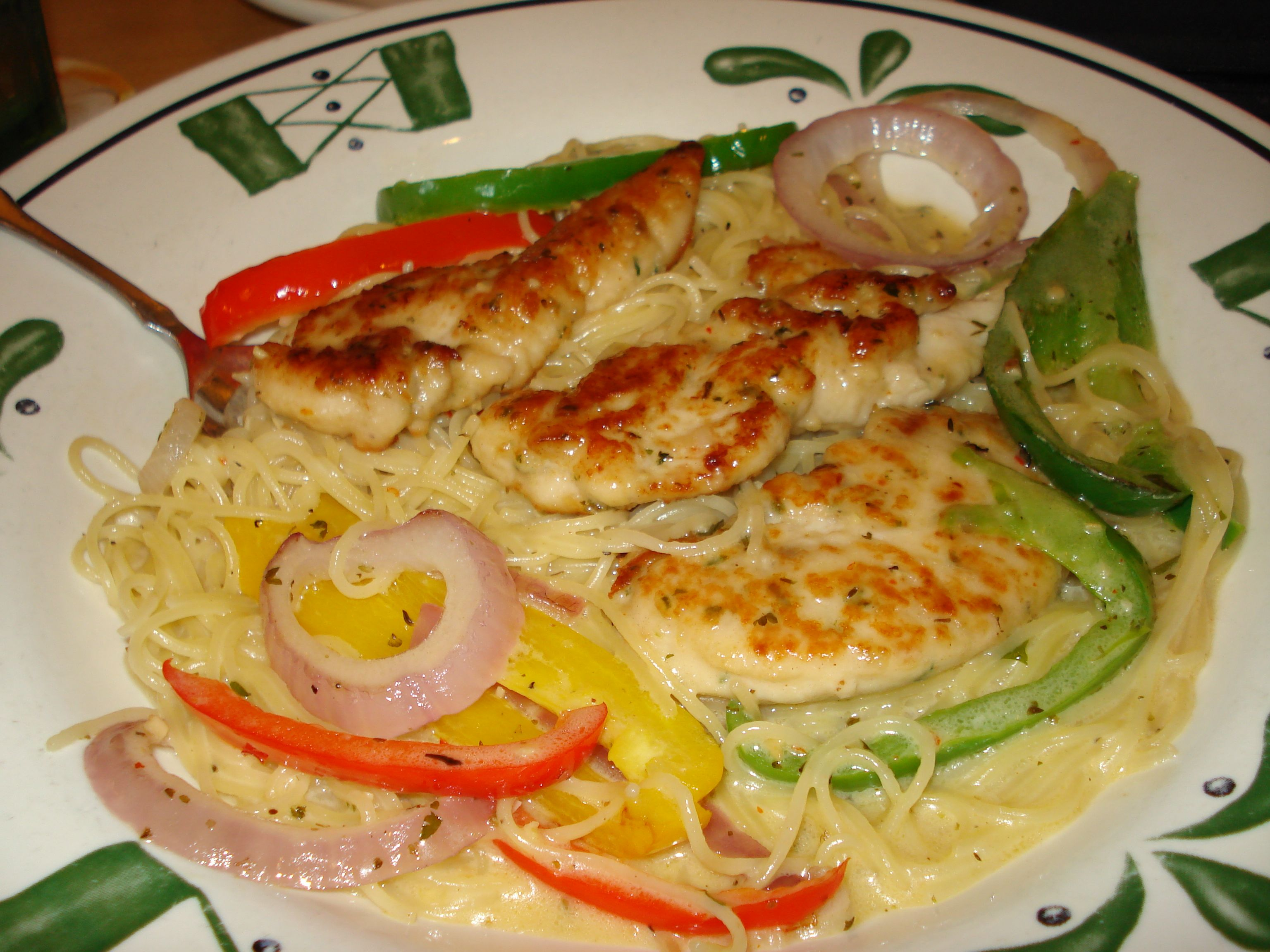 Pasta Recipes Chicken Scampi O G Style C From The Lips To The Hips Pinterest